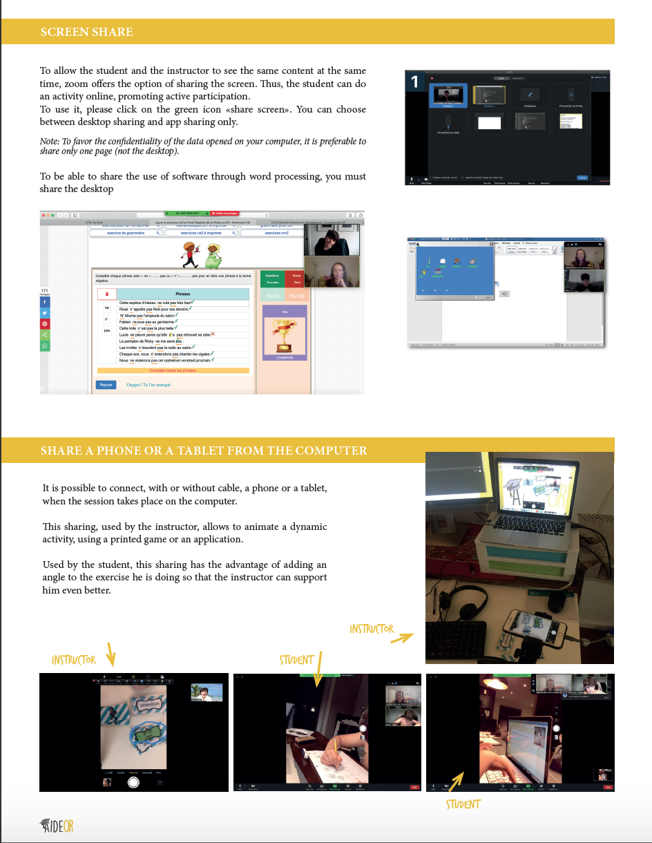 how to use zoom, tutor, coach, speech therapy, second language, psychology, learning support
